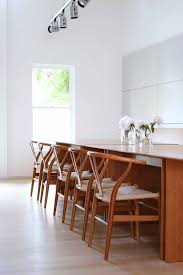 butlhaup c3 table and wishbone chairs originally designed by hans