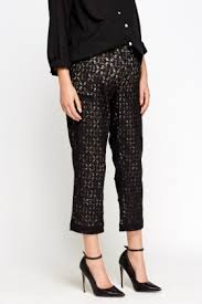 maternity trousers lace overlay maternity trousers just 5