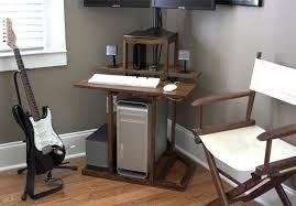 Small Computer Desk Plans Small Corner Computer Desk Kreyol Essence