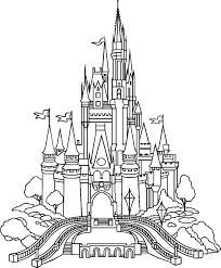 drawn palace cinderella u0027s castle pencil and in color drawn