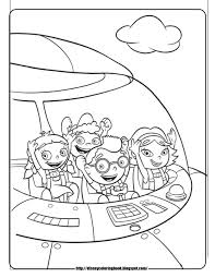 little einsteins 4 free disney coloring sheets learn to coloring