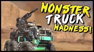 monster truck video game play crossout monster truck madness crossout gameplay youtube