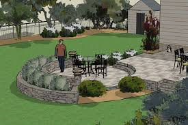 Patio Plans And Designs by Beautiful 3d Landscape Designs In Nj