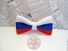 handmade bow buy bow tie russia russian flag symbol of russia patriot rodin