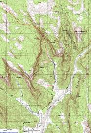Topography Map Topographic Map Of Water Canyon Hildale Utah