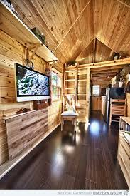 Beautiful Mobile Home Interiors The Tiny Tack House A Couple U0027s Perfect Mobile Home Home Design