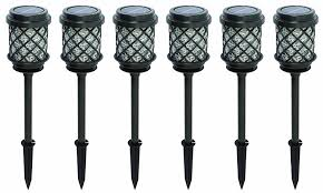 Malibu Bollard Light by Amazon Com Malibu 6 Pack Calypso Collection Solar Pathway Lights