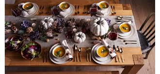 thanksgiving dinnerware decorations crate and barrel