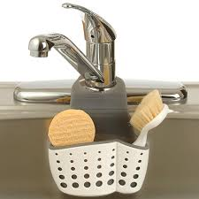 Sink Caddies Suction Sponge Holders Over The Sink Organizers - Kitchen sink sponge holder