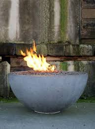 Concrete Fire Pit by How To Make A Concrete Fire Pit Bowl Hunker