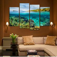 Coral Reef Home Decor Popular Coral Reef Art Buy Cheap Coral Reef Art Lots From China