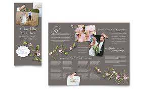 Wedding Booklet Templates Wedding U0026 Event Planning Templates Brochures Flyers