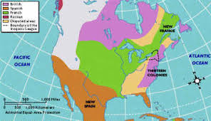 colonial america map settlements in america lessons tes teach