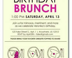birthday brunch invitation birthday brunch invitations birthday brunch invitations by the