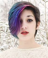 ways to dye short hair pink purple and turquoise short hair hair and stuff