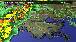 Louisiana Weather Map by Southern Louisiana Could Be In For Severe Weather Thursday Rain