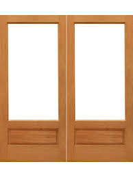 2 Panel Glazed Interior Door 1 Lite P B Interior Brazilian Mahogany 1 Panel Ig Glass Double