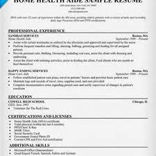 home health aide resume home health aide resume sle how to write a home health