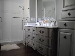 Bathroom Vanities Grey by Amazing Gray Bathroom Vanity Drawers As Storage With Wide Mirror
