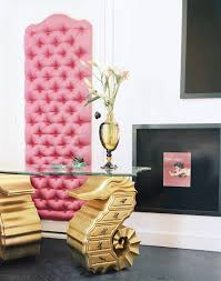 interiors home pink gold color palette room ideas glam interiors home decor