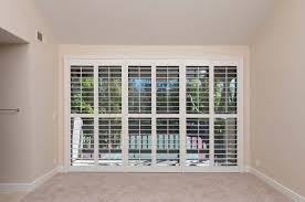 Plantation Shutters For Patio Doors Bedroom Danmer Com