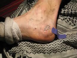 tattoos designs lightning bolt ankle
