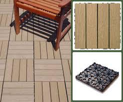 vifah v1005 eco friendly eternalwood composite deck tile box of