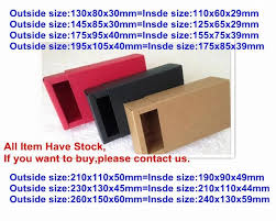 where can i buy boxes for gifts 50pcs lot kraft brown color drawer box kraft gift boxes retail