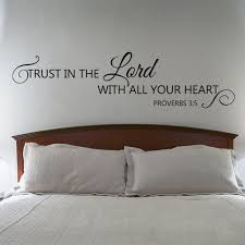 aliexpress buy scripture wall decal trust lord