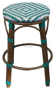 Turquoise Bistro Chair Furniture Charming Dark Black Counter Stools With Backs Kitchen