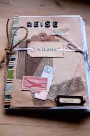 tagebuch selbst designen 25 einzigartige reisetagebücher ideen auf diy