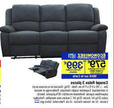 carrefour canapé carrefour promotion canapé lit clic clac produit maison destiné à