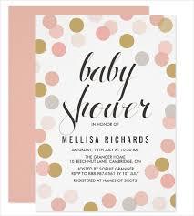 50 unique baby shower invitations free premium templates