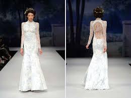 bush wedding dress 20 of the most stunning sleeve wedding dresses chic vintage