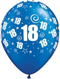 balloons for 18th birthday 18th birthday balloons 18 party around birthday balloons blue