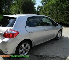 toyota auris used car 2011 toyota auris used car for sale in brits south