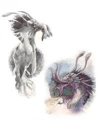 more sea dragon sketches by zirofax on deviantart