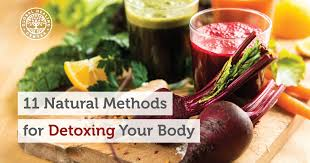 11 natural methods for detoxing your body