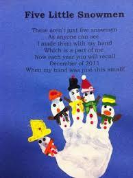 6 best photos of snowman handprint ornament poem printable