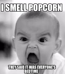 Bedtime Meme - meme creator i smell popcorn they said it was everyone s bedtime