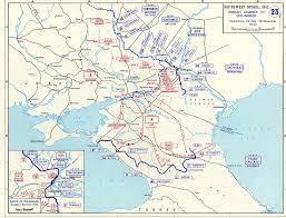 Battle Of Kursk Map German Invasion Stalingrad May July 24 November 18 1942 Ww2