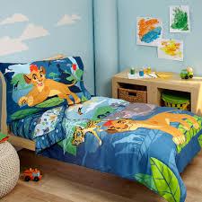 disney lion guard prideland adventure 4 piece toddler bed set