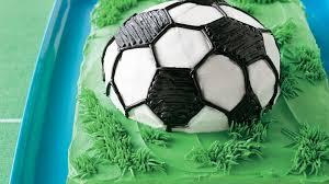 soccer cake soccer cake recipe bettycrocker