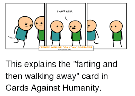fartr i have aids created with explosm comic generator explosmnet