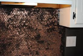 penny tile backsplash kitchen great home decor installing