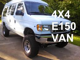 van ford econovan ford e150 4x4 van conversion youtube