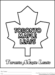 toronto maple leafs coloring pages kids coloring europe travel