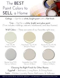 the best paint colors to sell a home reid voss real estate