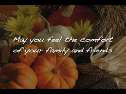 a thanksgiving message for you