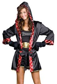 boxer costume womens boxing robe costume on the hunt